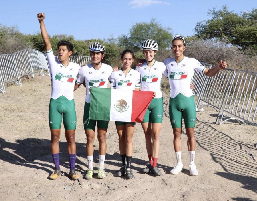 Ciclistas aztecas ganan 8 preseas de Montaña