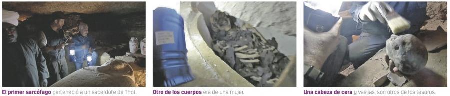 Momia de sacerdote resurge de catacumba tras 2 mil años