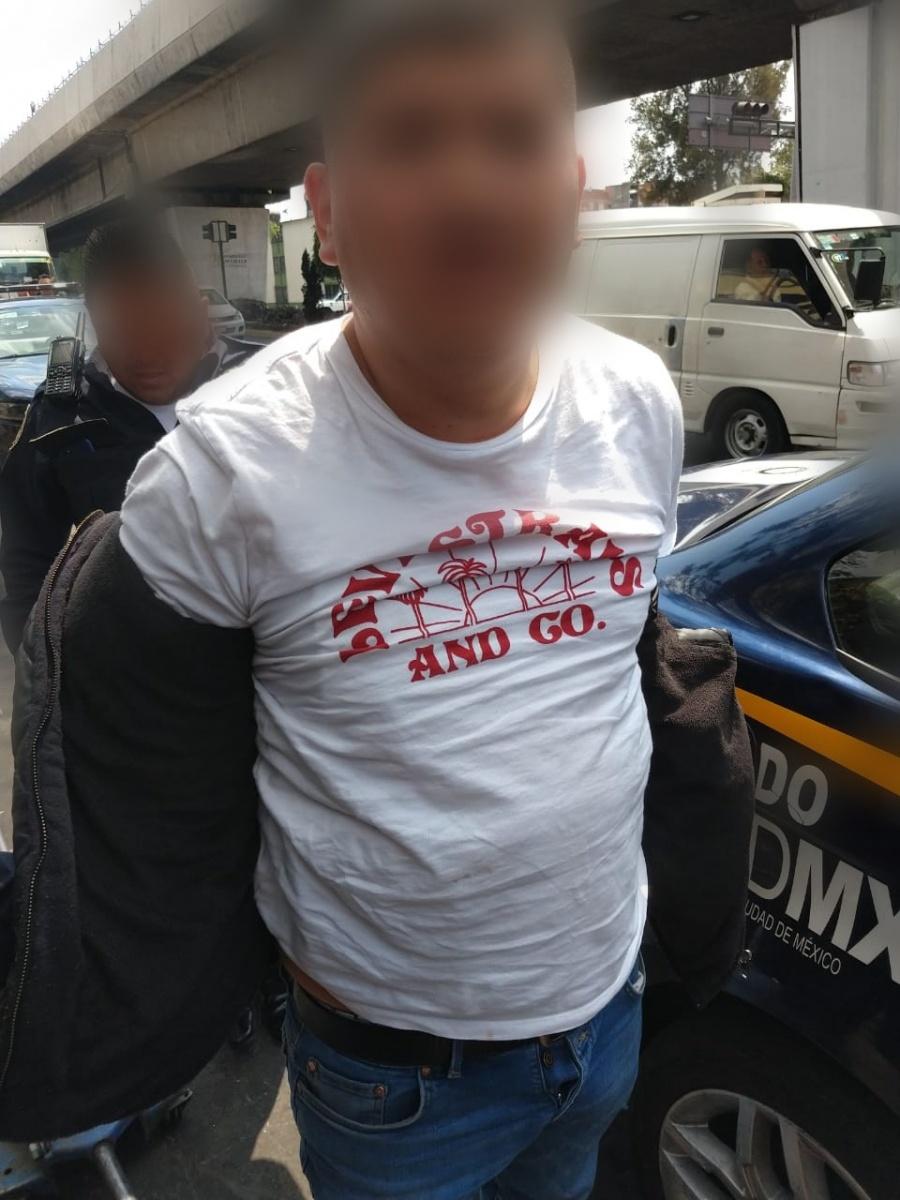 Roban Rolex y son detenidos en Venustiano Carranza