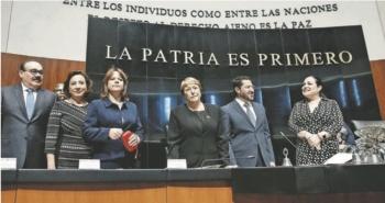 ...Y Bachelet se ofrece a acompañar legislación secundaria de la Guardia