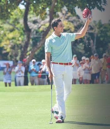 Golfista mexicano cumple un sueño en The Master