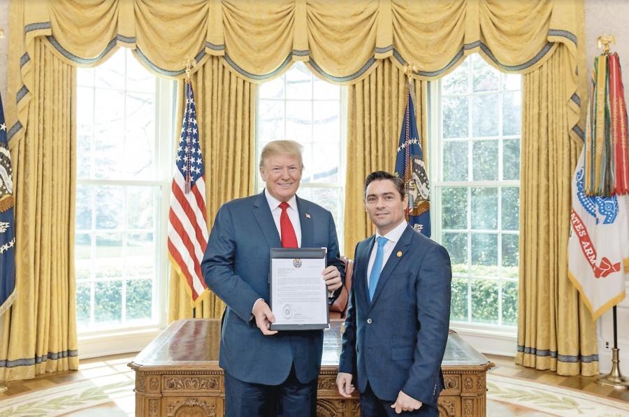 Trump reconoce a embajador y ficha de Guaidó en la OEA