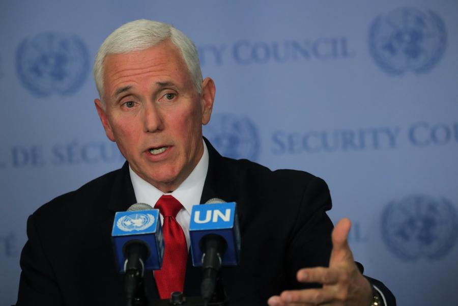 Pence pide reconocimiento de Guaidó ante Consejo de Seguridad de la ONU
