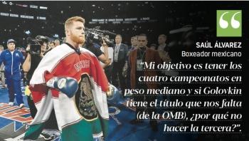 Canelo pide a GGG ganar Campeonato para pelear