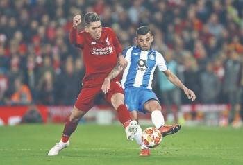 Porto sigue sin ganar frente al Liverpool