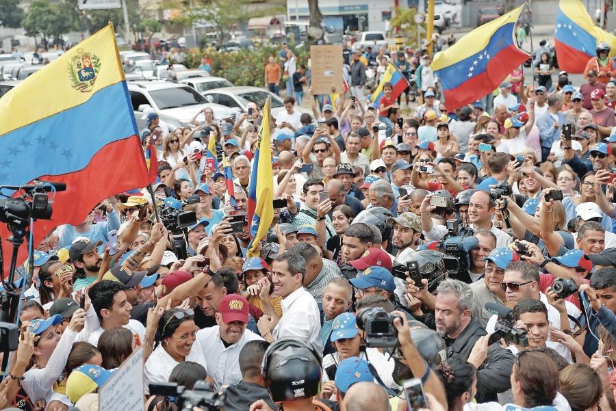 EU exhorta a la ONU a reconocer a Guaidó