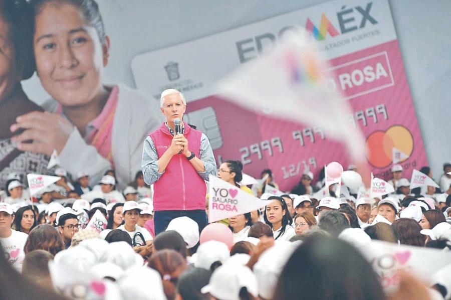 Edomex continúa con impulso al Salario Rosa