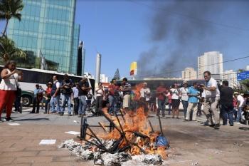 Choca Gordillo con la CNTE por discusión de Educativa