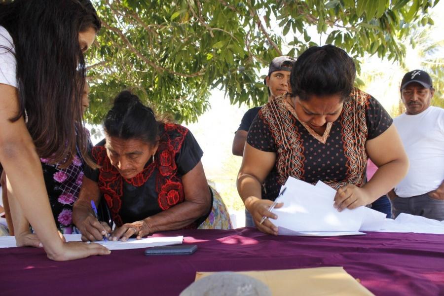Se lleva a cabo la segunda Asamblea Regional de consulta al pueblo Binnizá