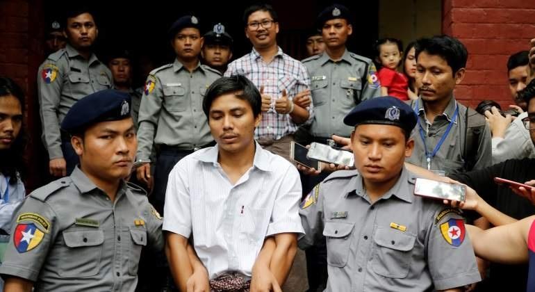 Reporteros de Reuters en prisión, ganan premio Pulitzer