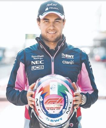 Checo Pérez sube cuatro lugares en el GP de China