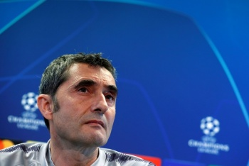 Messi en perfectas condiciones para jugar ante el Manchester United: Valverde