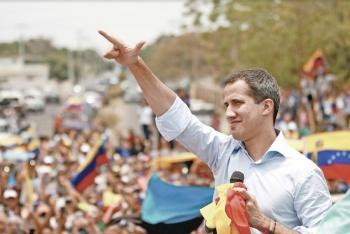 Grupo armado retiene a Guaidó