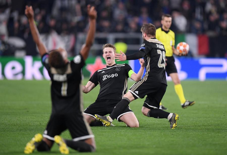 El Ajax despide a la Juventus de CR7 en la Champions League