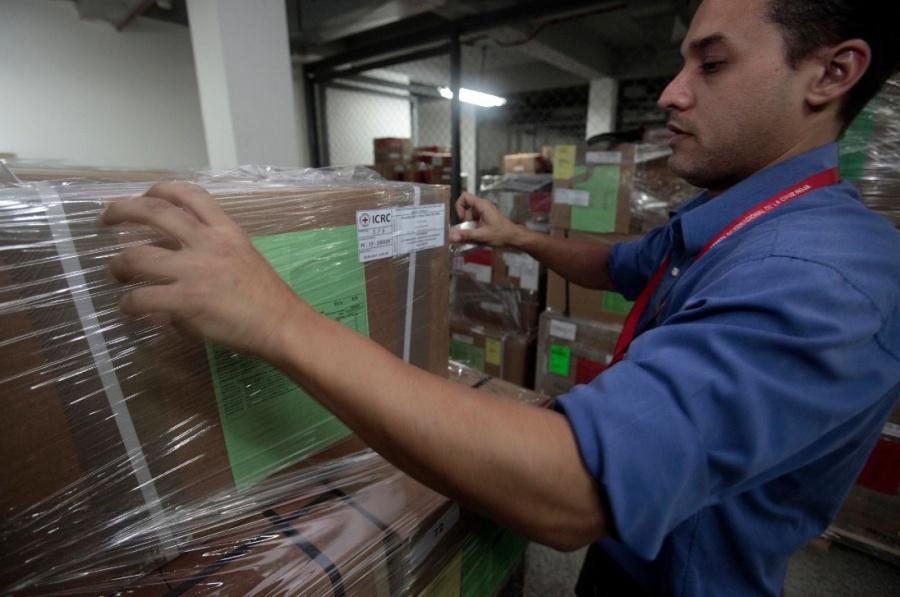 Ayuda humanitaria de la Cruz Roja llega a Venezuela