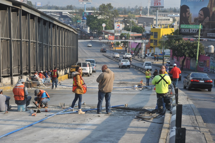 Reparación del Circuito Interior, con un costo de 1.5 mdp