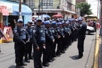 Realizan operativo de seguridad en Iztapalapa por la Pasión de Cristo