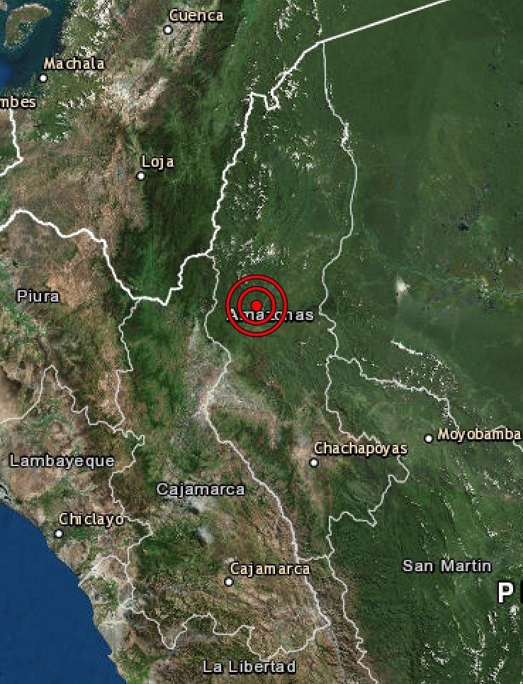 Perú es sacudido por sismo de magnitud 5.5