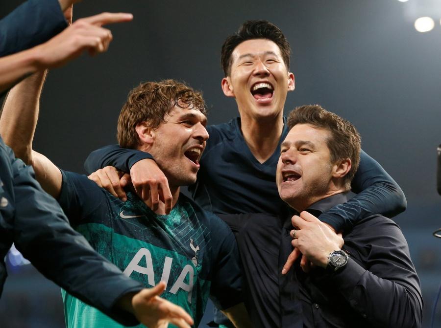 Tottenham echa al City de la Champions