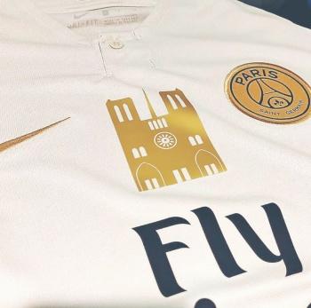 Para apoyar a Notre Dame, PSG pone a la venta Nuevo Jersey