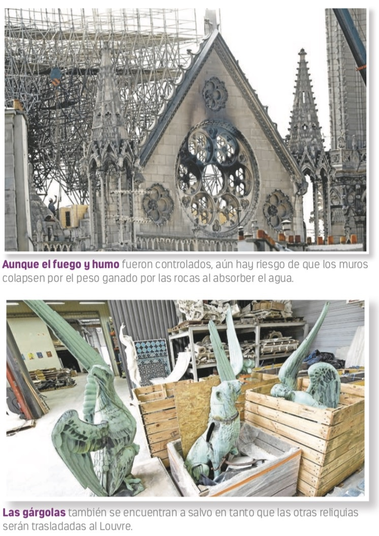Destino de Notre Dame, en manos de expertos mundiales