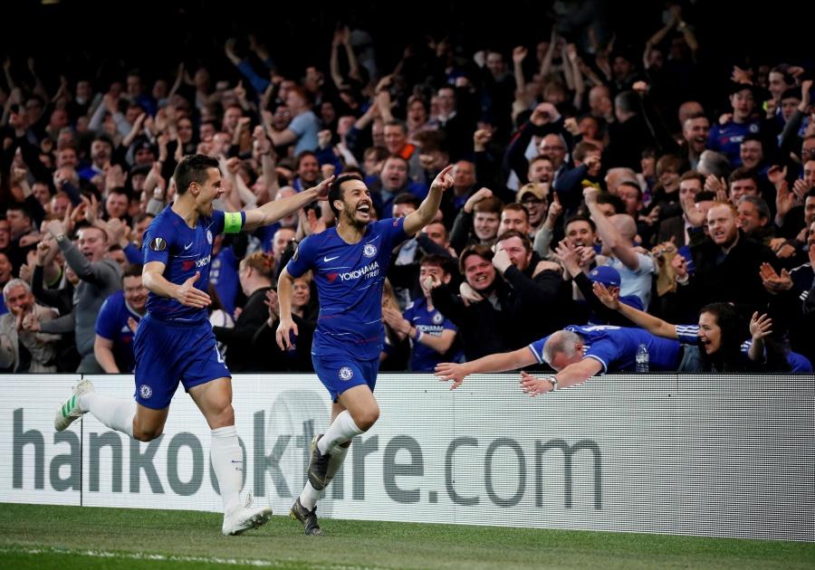 Chelsea vence al Slavia Praga y se mete a semifinales de la Europa League