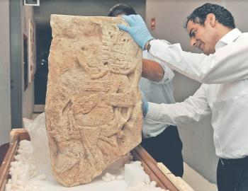 EU regresa a Chiapas estela maya de más de mil años