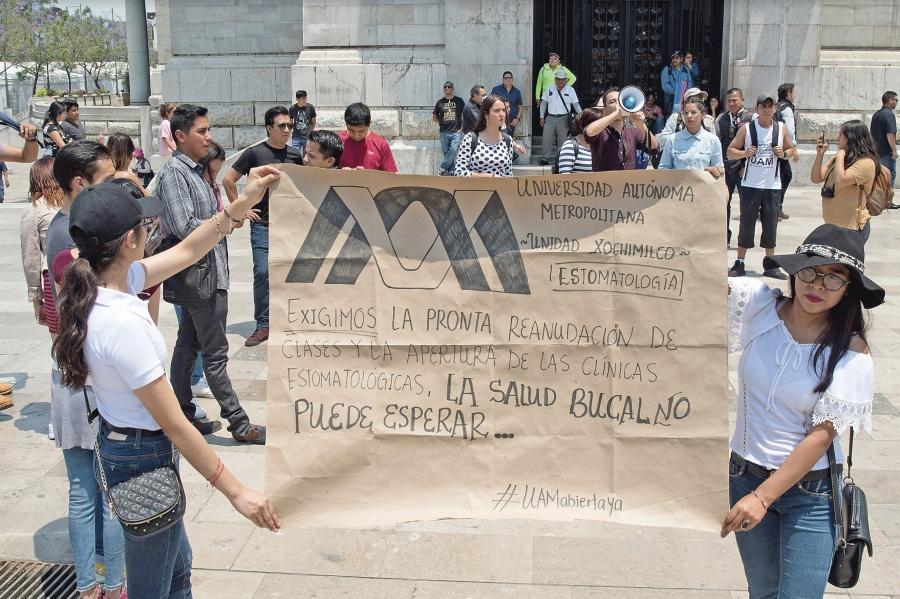UAM exigirá levantamiento de huelga con marcha