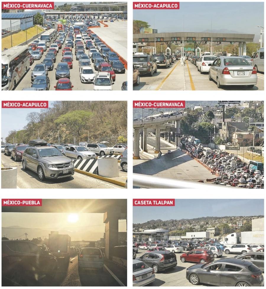 Continúa el caos vehicular