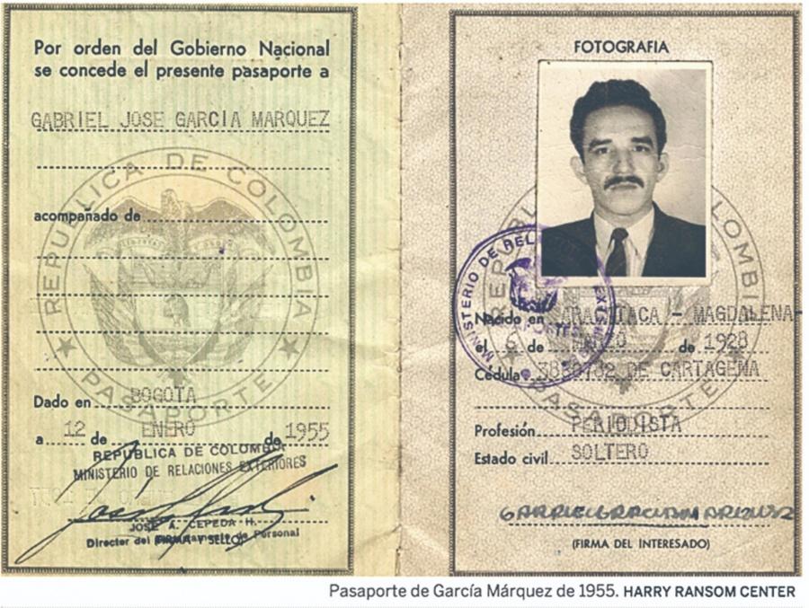 Carta revela intención de Gabo de ser corresponsal en Madrid