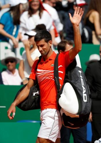 Djokovic dice adiós al Masters de Montecarlo