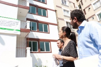 GobCDMX entrega edificio reconstruido en Xochimilco