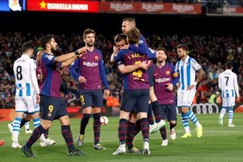 Barcelona vence a Real Sociedad y se acerca al título en España