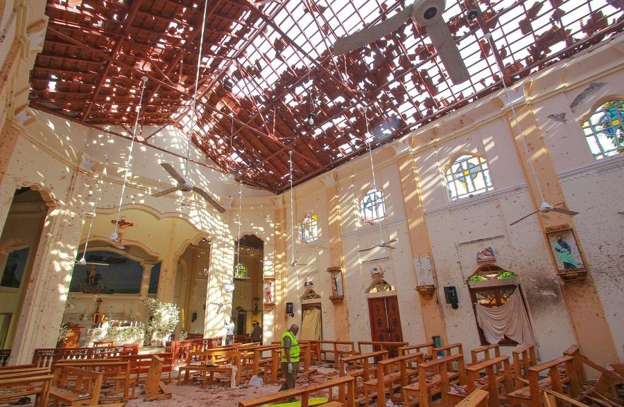 Ataque en Sri Lanka deja 200 muertos y 450 heridos