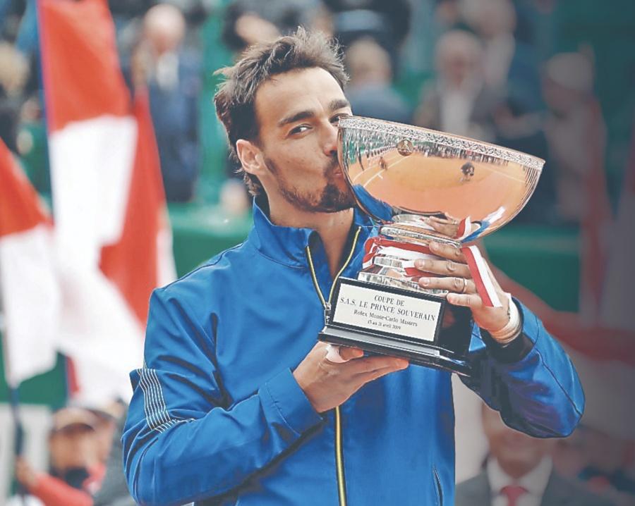 Fognini conquista el Masters De Montecarlo