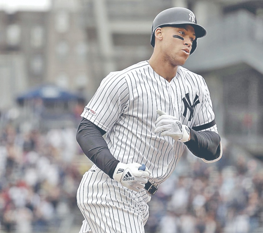 Yankees se quedan sin Aaron Judge por lesión