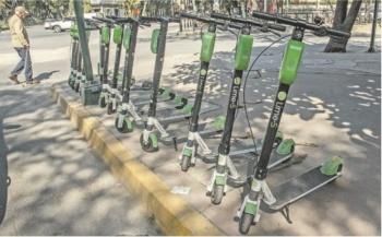 Buscan amparo contra los scooters y bicicletas