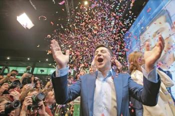 Comediante es ahora presidente de Ucrania