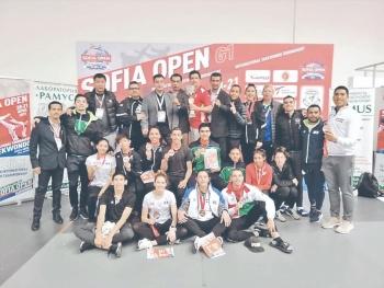 Selección Mayor domina Bulgaria con 13 medallas