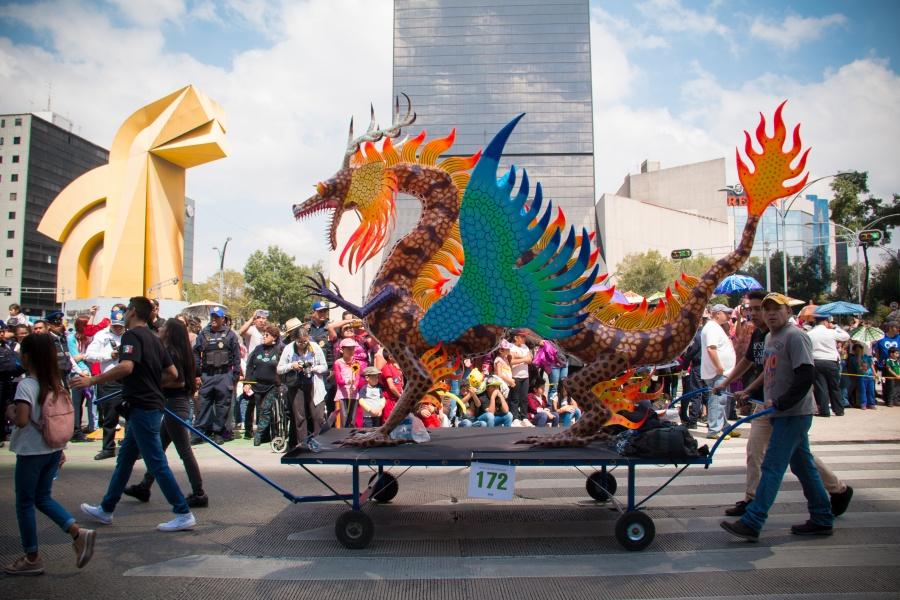 Vuelve el desfile de alebrijes a la Alameda Central