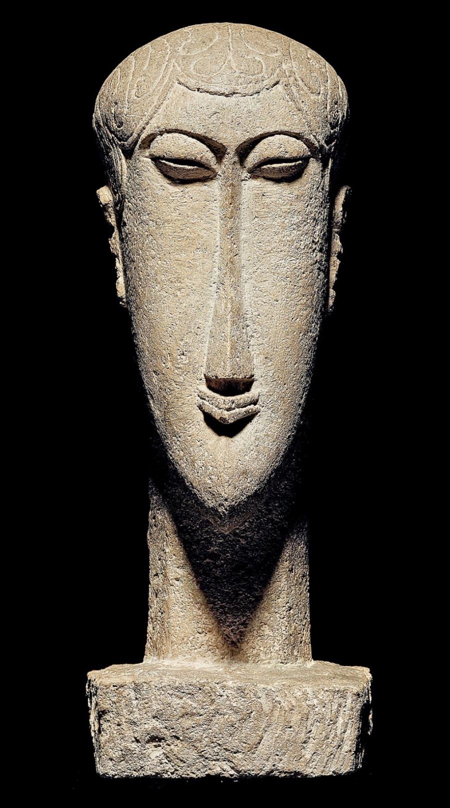Subastan otra vez 1 de 26 esculturas de Modigliani