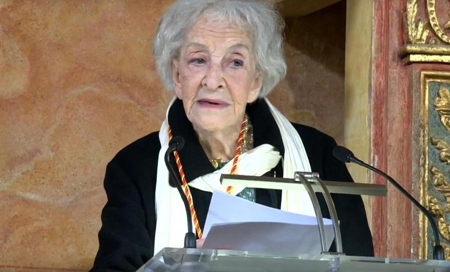 Poeta uruguaya Ida Vitale recibe el Premio Cervantes