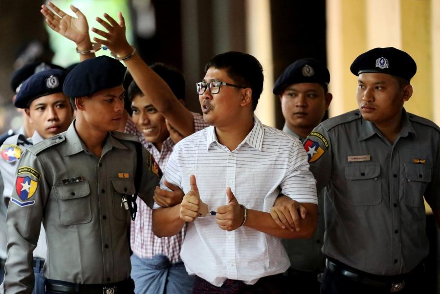 Corte rechaza apelaciones de reporteros de Reuters en prisión