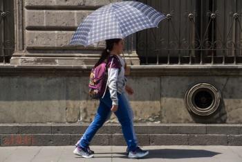 Se espera ambiente caluroso y lluvias ligeras en Valle de México