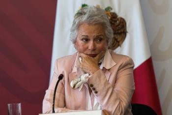 Sánchez Cordero pide respetar leyes migratorias de México