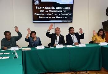Acuerdan mesa de trabajo para diseñar Ley de Protección Civil capitalina
