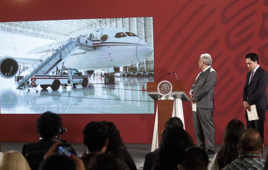 Quieren 14 personas el avión presidencial mexicano