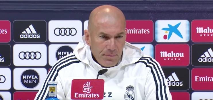 El recado de Zidane: El Madrid tiene 33 ligas, el Barcelona ¿cuántas?