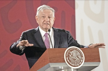Operativo contra migrantes es por seguridad, dice AMLO