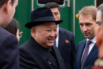 Arriba Kim Jong Un a Rusia para cumbre con Putin